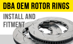 Click here to learn more about DBA replacement rotor rings and how to intall them on your car